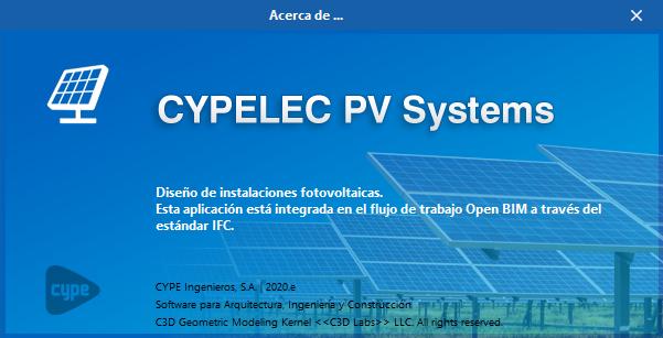 CYPELEC PV Systems. Instalaciones fotovoltaicas